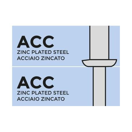 структурная SARILOCK сталь оц. / сталь оц. 6,4х12 стандартный бортик